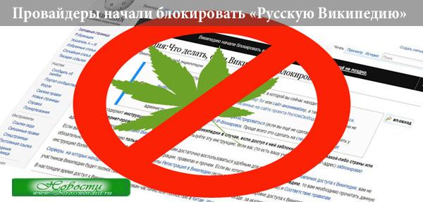 Провайдеры начали блокировать «Русскую Википедию»