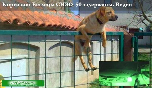 Киргизия: Беглецы СИЗО-50 задержаны. Видео